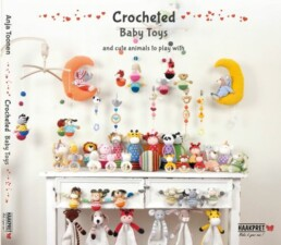 Crocheted Baby Toys and cute animals to play with